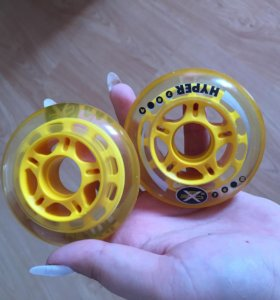 Гелевые колеса на ролики 8шт