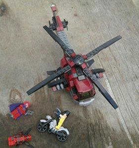 Лего вертолёт Дэдпула