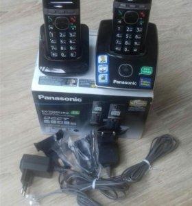Телефон беспроводной Panasonic KX TG 8052 RUB
