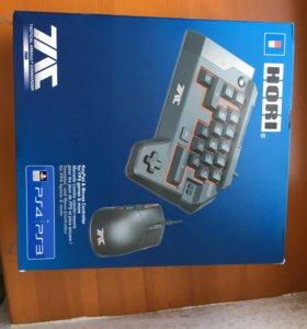 Клавиатура и мышь для PS 4, PS 3