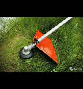 Покос травы на вашем садовом участке