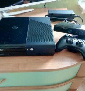 XBOX 360e + Kinect и игры