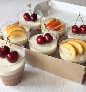 Торты, капкейки, десерты в стаканчиках на заказ