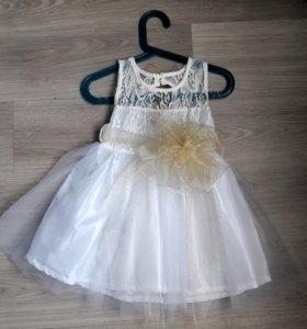 Платье новое 86-92