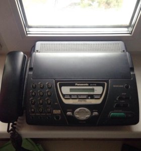 Panasonic KX-FT78. Факс. Проводной телефон.