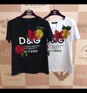 Новая модная футболка dg