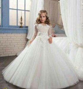 Роскошное бальное платье