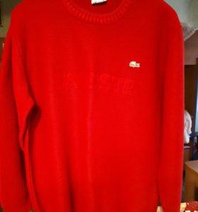 Новый  мужской свитер LACOSTE р М