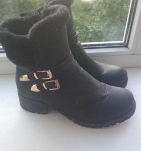 Ботинки женские зимние, 38 р-р.
