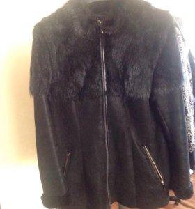 Дубленая куртка