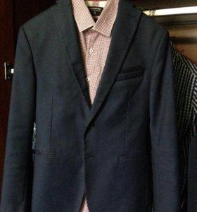 Zara пиджак с отливом