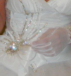 Свадебное платье ретро стиль