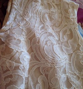 Костюм юбка и кофта с баской