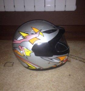 Шлем мотоциклетный детски