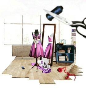 Пошив и ремонт одежды. Пошив штор.
