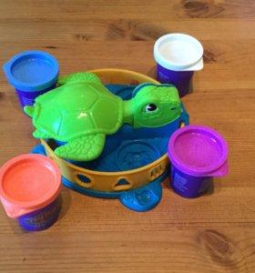 Игровой набор Забавная черепашка  Play Doh