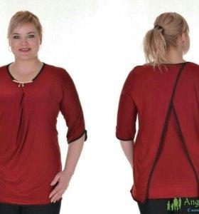 Женская блуза оригинального кроя