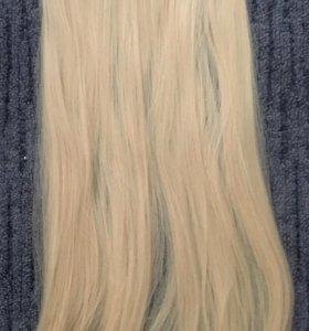 Волос на заколках (искусственный)