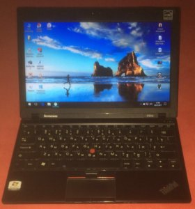 Lenovo ThinkPad X100e ультрабук тонкий и стильный