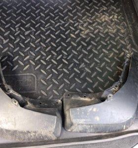 Брызговики задние Audi A4 B8