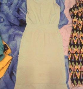 Платье мятное