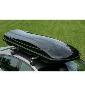 Автобокс Амос 500 литров чёрный