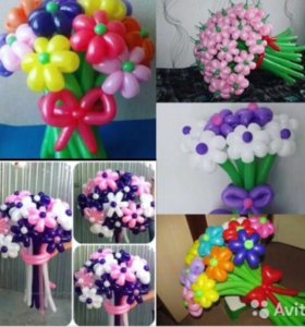Букеты из воздушных шариков