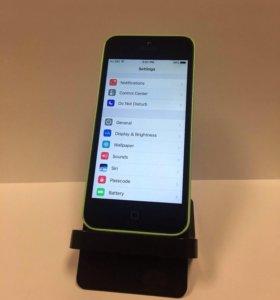 iPhone 5c зелёный, 8gb