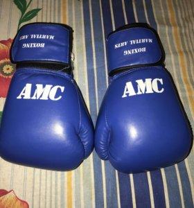 Перчатки для бокса и единоборств AMC