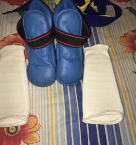 Защита голеней и стоп (футы) для тхэквондо
