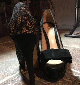 Туфли с открытым носом Ferdi (italy) очень клевые!