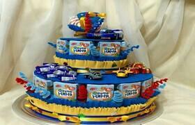Тортики из сока