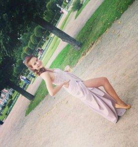 Платье в пол 40-42р
