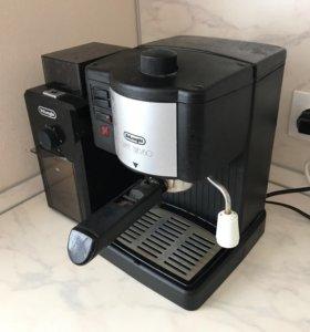 Кофемашина полуавтомат и кофемока