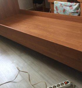 Кровать без матраца