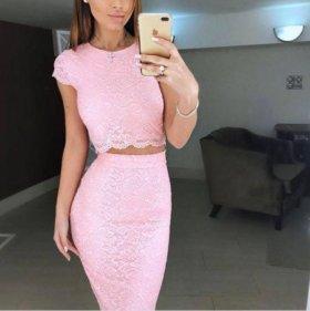 Комплект юбка + кофта
