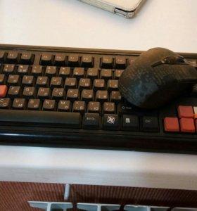 Клавиатура с мышкой беспроводные