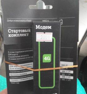 Модем tele2