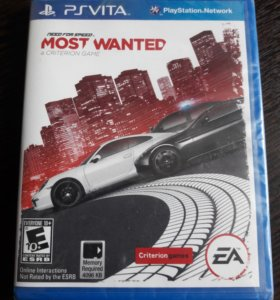 Need for Speed MOST WANTED (в заводской упаковке)
