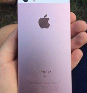 iPhone SE ROSE GOLD 16 gb.