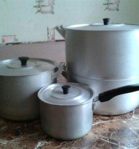 Продам набор посуды из аллюминия