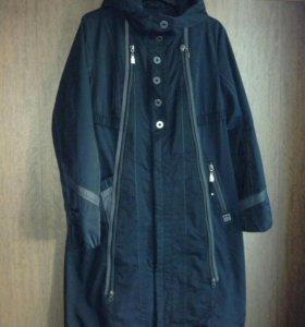 Плащ утепленный/пальто осеннее, размер 44-46