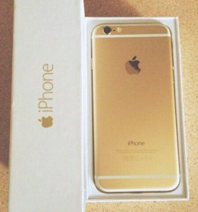 iPhone 6, gold, 16 gb
