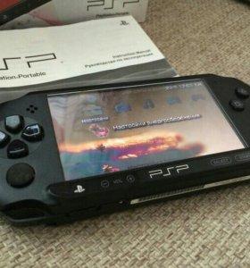 Известная приставка PSP и 17 игр