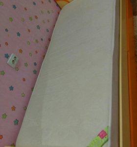 """Кровать детская """"Фруттис"""" с ортопед.матрацем"""