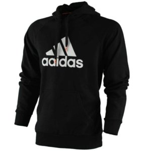 Толстовка adidas black