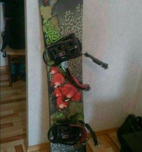 Сноуборд комплект новый