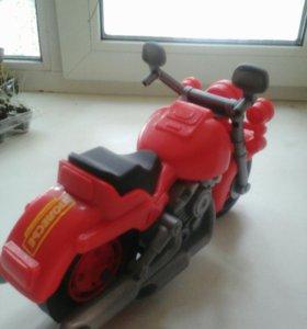 Игрушка мотоцикл