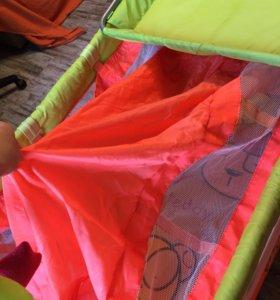 Кровать-манеж bebeton