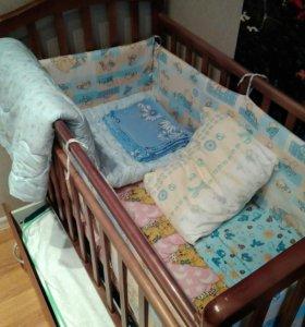 Кроватка детская(маятник)
